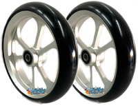 "CW407 6"" x 1.4"" Caster Wheel With Aluminum Rim and 5/16"" Bearings."