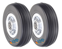 "6""x2"" Front and Rear Caster Wheel for the Jazzy 600 ES. SET OF TWO"