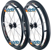 "24""  (540mm) Fusion 16 Rear Spoke Wheel With Primo Everyday Tires"
