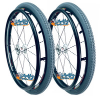 """24""""  (540mm) Fusion 16 Rear Spoke Wheel With Primo PNEUMATIC Everyday Tires"""