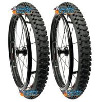 """24"""" x 2""""  (540mm) Fusion 16 Rear Spoke Wheel W- Kenda Nevegal Tire"""
