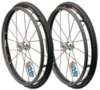 "Set of 25"" (559mm) Fusion 16 Rear Wheel With Schwalbe Marathon Plus Tire"