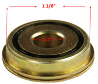 "B05P- 1/2 X 1 1/16""  FLANGED, CASTER STEM. Pack of 4 Bearings"