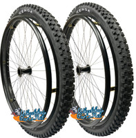 "SET of 2 Sun  L20 Wheels in  24"" (540mm) With Kenda Nevegal Tire (2"" Wide)"