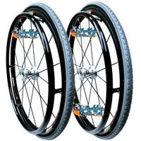 "24"" (540mm) Fusion 16 Wheel W/ Primo 24 X 1-3/8"" X-TREME KEVLAR Tires"