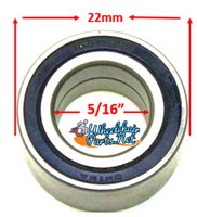 B10P- 5/16 X 22mm PRECISION CASTER  REF #608-RS. Sold as Pack of 4