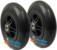 """CW614 - 6"""" x 1 1/4"""" Assembly With 1.5"""" Center Hub and 5/6"""" Bearings."""