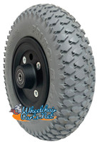 """CW207 - 200x50 (8"""" X 2"""") Wheel with Foam Fill Insert and 5/16"""" bearings."""
