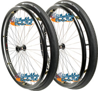 "SET of 2, 24"" (540mm) L20 Rim With PRIMO SENTINEL Tire & Tube"