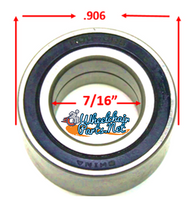 B20P- 7/16 X.906 PRECISION CASTER REF#1607-RS. Sold as Pack of 4