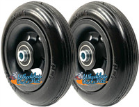 "CW5114 5"" x 1 1/4""  Caster Wheel With 1.60"" Hub and 5/16"" Bearings. Sold as Pair"