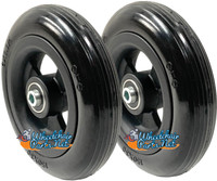 "CW6114-5 6"" x 1 1/4""  Caster Wheel With 1.60"" Hub and 5/16"" Bearings"