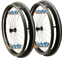 "22"" x 1 3/8"" Sun L20 Rim With SCHWALBE RIGHTRUN, NON-MARKING TIRES SET OF 2 WHEELS"