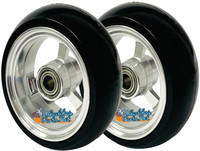 "3"" x 1.4"" Caster Wheel With Aluminum Rim and 5/16"" Bearings."