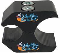 "WL140C-  1.25"" BLACK WHEEL LOCK CLAMP"
