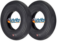 "T020B 8"" X 2"" (200-50) BLACK COLOR TIRE (NON-MARKING). SOLD AS PAIRS"