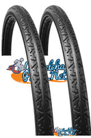 """AL05X - 24"""" x 1 3/8"""" EXTREME Light Weight, Solid Tire . Set of 2"""