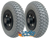 "CW207-7  8"" X 2"" (200x50) Wheel with Foam Fill Insert and 7/16"" bearings."