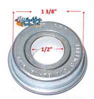 "B95P- 1/2 X 1 3/8"" FLANGE BEARING, REF.#12138. Sold as Pack of 4"