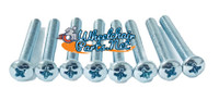 "2 1/4"" Long, Mounting Screws For RIVNUT Handrims. Pack of 8"