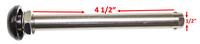 "1/2"" x 4 1/2"" BIG BUTTON TITANIUM QUICK RELEASE AXLES. Sold as each"