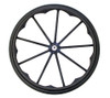 """24x1"""" Invacare/Drive Mag Wheel, 9 Spoke With 2 1/8"""" Hub Width. Sold As Pair"""