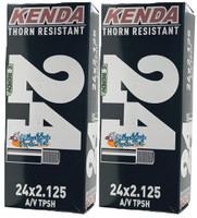 """I220 - 24"""" x 2.125 Thorn Resistance Inner Tubes. Sold as Pair"""