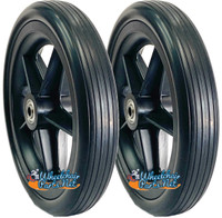 """CWR714-5   7"""" X 1.4"""" Solid wheel with Bearings and Hub Width 1.6"""""""