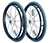 """24"""" SPINERGY 12 SPOKE LX WITH PRIMO 24""""x1 3/8"""" Street Tires"""