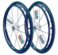 """24"""" SPINERGY 12 SPOKE LX WITH 24"""" x 1"""" PRIMO SENTINEL Tires"""