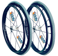 """24"""" SPINERGY 12 SPOKE LX WITH PRIMO 24""""x1 3/8"""" X-TREME KEVLAR Tires"""