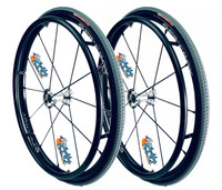 """24"""" SPINERGY 12 SPOKE LX WITH 24"""" x 1"""" PRIMO PASSAGE Tires"""