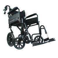 """Airgo Comfort-Plus XC Premium Transport Chair -19"""" Seat"""