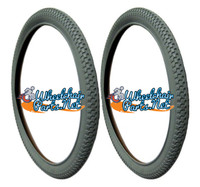 """24"""" x 2.125 (57-507) Off Road Tire. Fits on 57-507 rims only. Set of 2"""