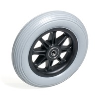 """CW106PB- 6 X 1-1/4"""" Anti-Tipper Wheel. Fits on JAZZY Powerchairs"""
