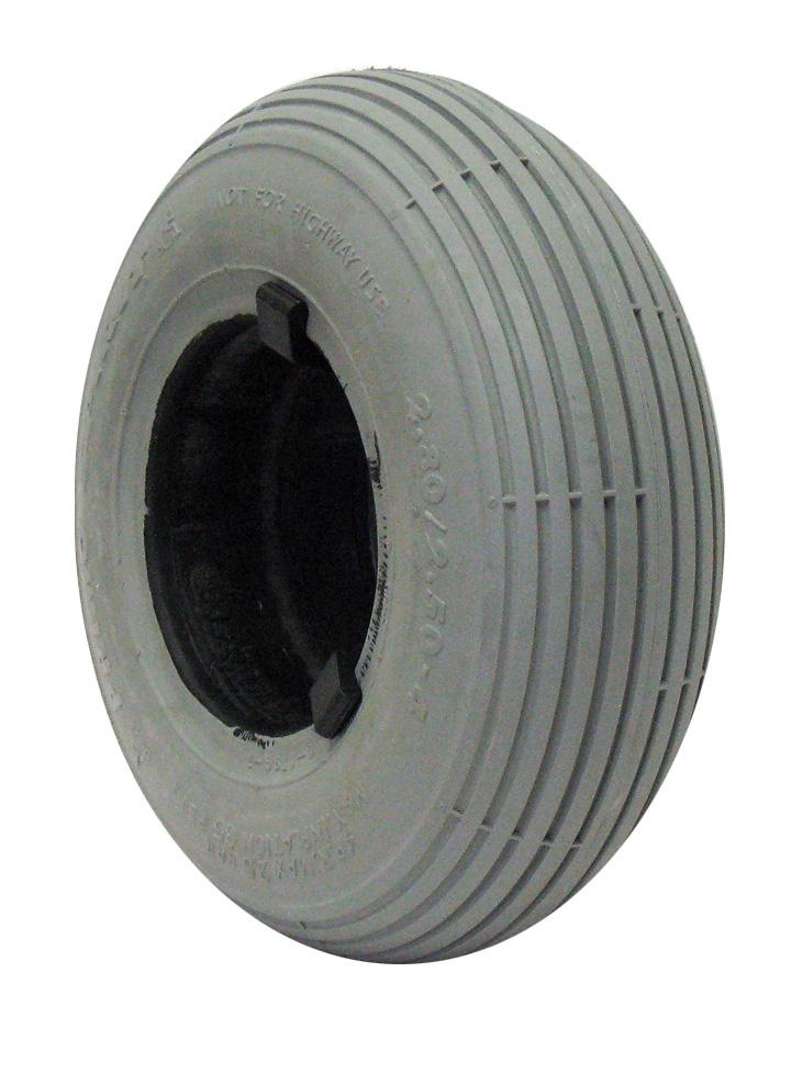 F070- 2 80X2 50 (9X2 3/4) RIB TIRE