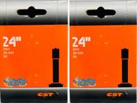 """I109P- 25-540 (24X1"""") High Pressure Inner Tube, Standard Valve. Sold as pair."""