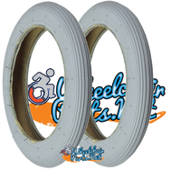 "T012P- 8 X 1-1/4"" (32x140) RIB TIRE. SOLD AS PAIR"