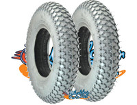 "T021P-  8 X 2"" (200X50) KNOBBY TIRE. SOLD AS PAIR"
