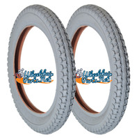 """T031P-  14 x 2.125""""  KNOBBY (EXPRESS) TIRE. SOLD AS PAIR"""