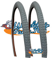 "T042P-  22 X 1-3/8""  (37-501)  STREET TIRE. SOLD AS PAIR"