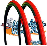 "T096-2P-  25 X 1"" RED RACER TIRE. SOLD AS PAIR"