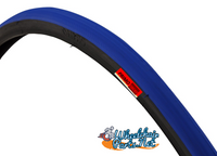 """T104-1P-  24 X 1"""" BLUE TIRE. SOLD AS PAIR"""