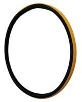 "T106-3P-  26 X 1"" YELLOW TIRE. SOLD AS PAIR"