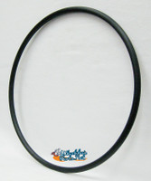 "PR094P-  X-Core 3 Spoke 25"" (559) Vinyl Coated Black Pushrim with 6 Rivnuts. Sold as pair"