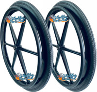 "RW221 - X-CORE- 6 SPOKE, LIGHT WEIGHT, 24 X 1"" WHEELS. SOLD AS PAIR"