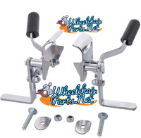 WL050P-  INVACARE TYPE WHEEL LOCK FOR DETACHABLE ARMREST. SOLD AS PAIR