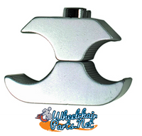 "WL130C-  7/8"" GRAY WHEEL LOCK CLAMP"
