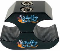 "WL170C-  7/8"" BLACK WHEEL LOCK CLAMP"
