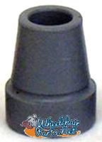 """RB173-  GRAY RUBBER TIP FOR 3/4"""" TUBE"""